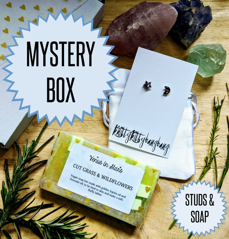 Luxury mystery box  jewellery and handmade soap image 0