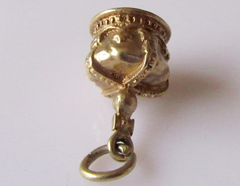 Vintage 9ct Royal Crown Charm or Pendant