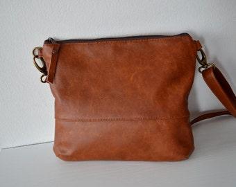 Leather crossbody bag  0d4a0937303ac