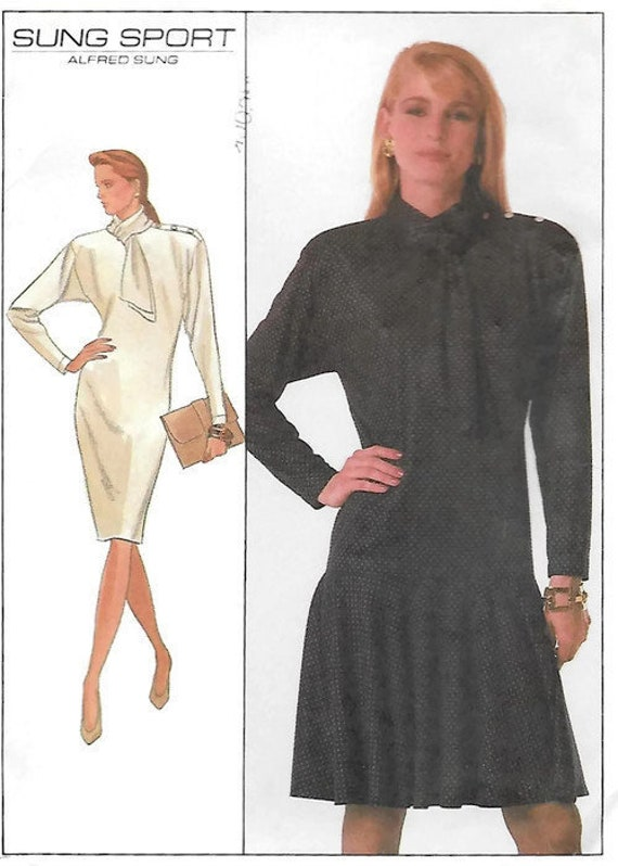 efcfdb5ab0 Misses Sung Sport Pullover Dress Simplicity 8902 Sewing