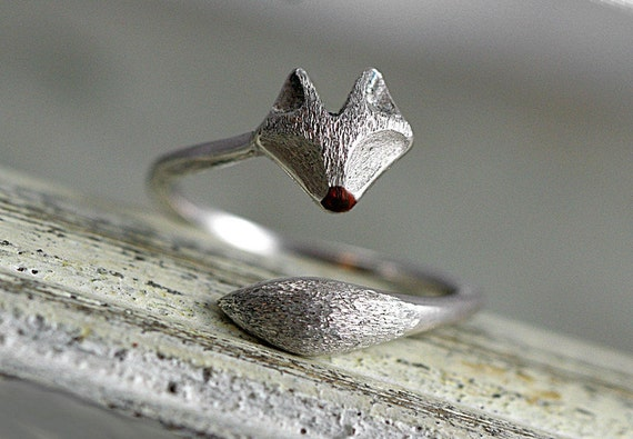 Wrap fox ring