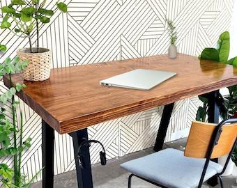 Solid Wood Desk - Home Office Desk