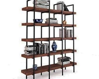 UMBUZÖ Modern Steel Bookshelf