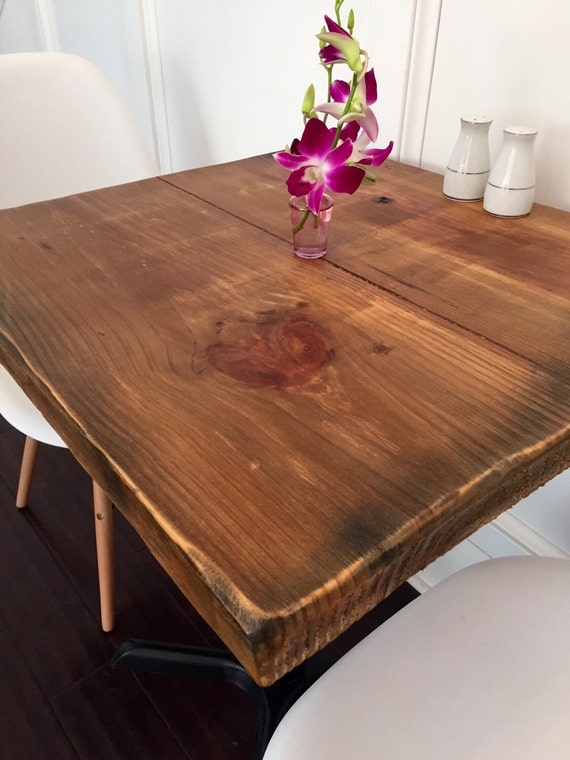 Restaurant Table Top Reclaimed Wood Table Etsy - Reclaimed wood restaurant table top
