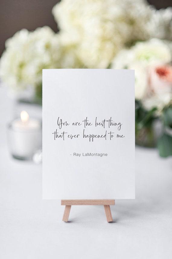 Black White Wedding Love Song Quotes Printables Bridal Etsy