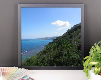 A View From Mystic Mountain Framed poster