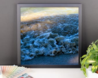 Ocean Sea Photography Print Framed poster