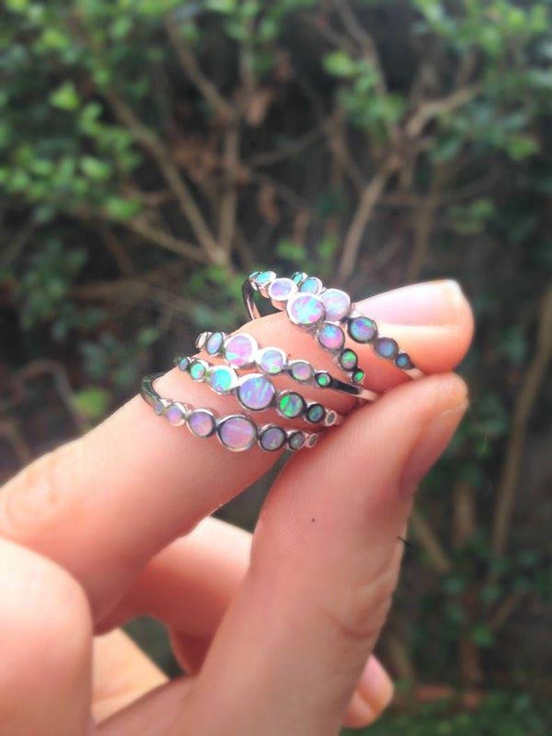 Unicorn Tears Opal Ring image 0