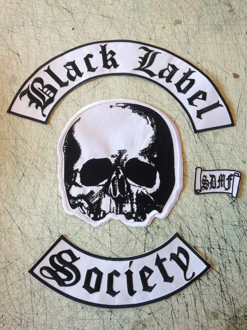 2a40d361ca5 Black Label Society Patch