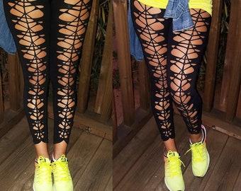 Leggings- Front Cut Outs