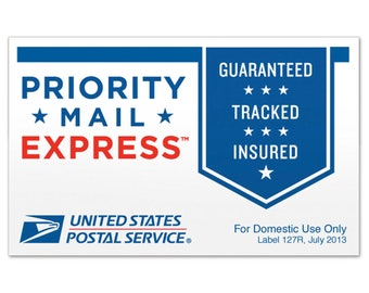 Special shipping Express Mail Shipping upgrade