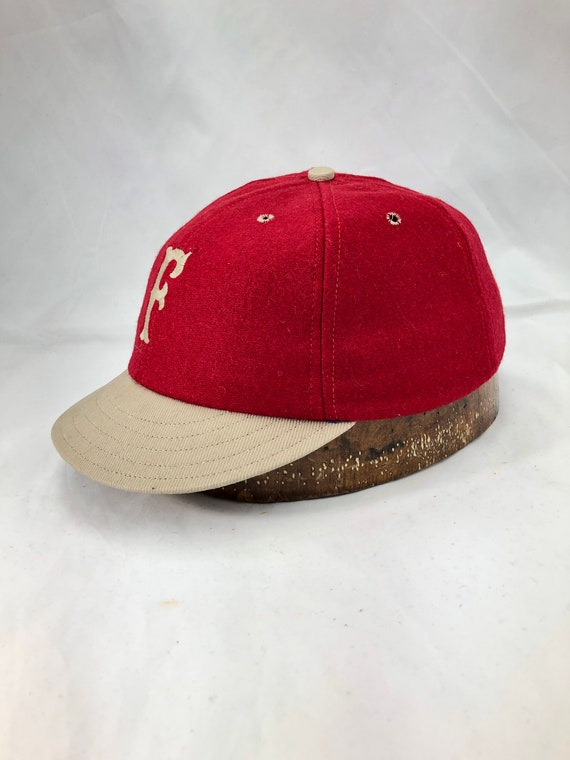 Fullerton Fire Knockers Vintage Base Ball Team cap, Southern California VBB League.