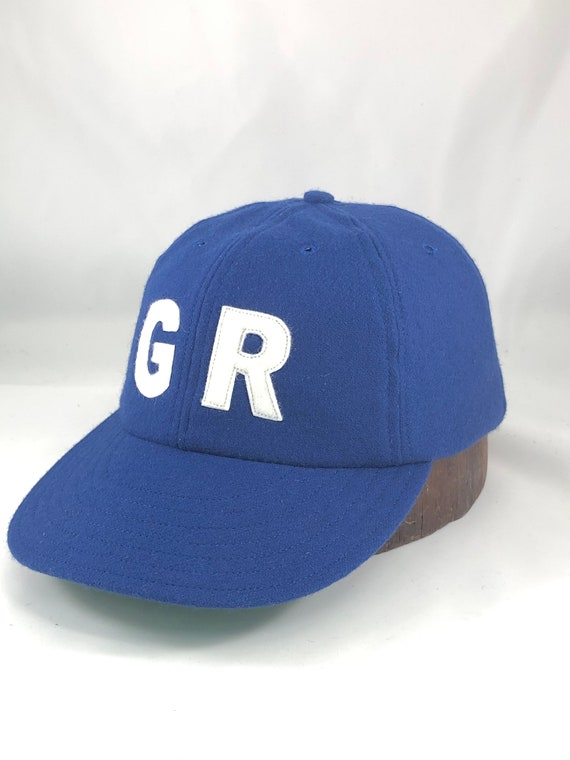 Grand Rapids Chicks Women's League baseball cap. Custom made to order by the original seamstress for the movie caps.