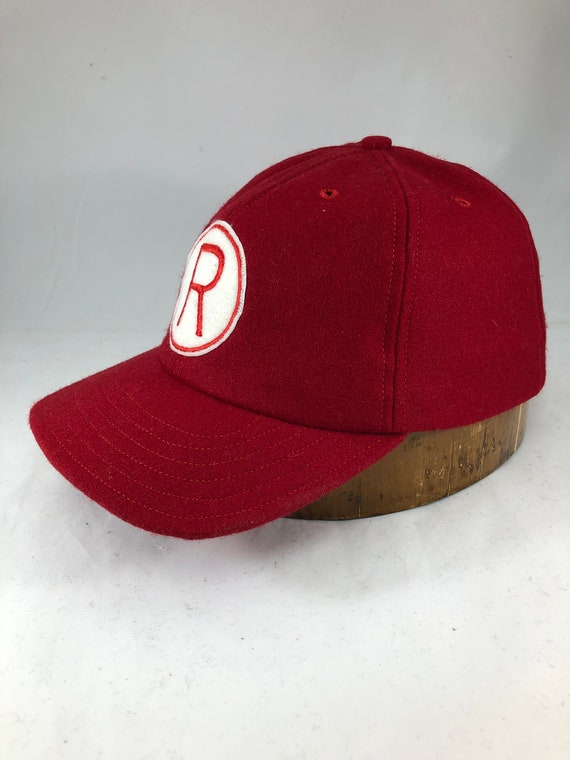 Rockford Peaches Women's League baseball cap. Custom made to order by the original seamstress for the movie caps.