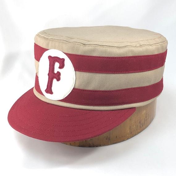 Fullerton Fireknockers Vintage Base Ball Team cap. Southern California Vintage Base Ball League. Any size available