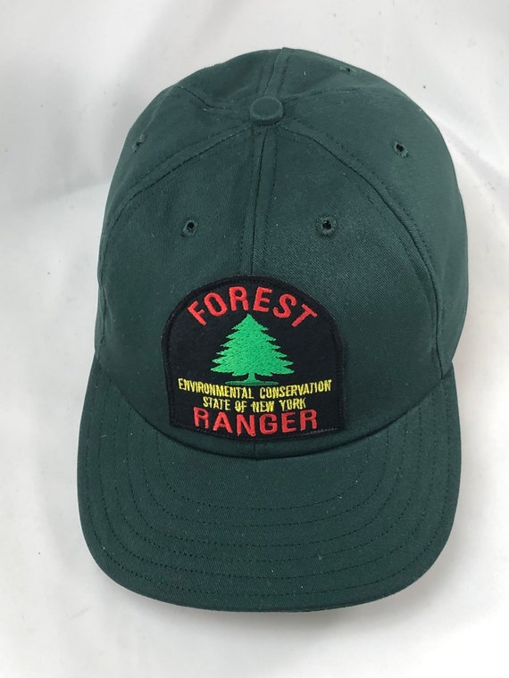 Forest Ranger felt patch cap in any color cotton twill. Any size available, select at checkout.