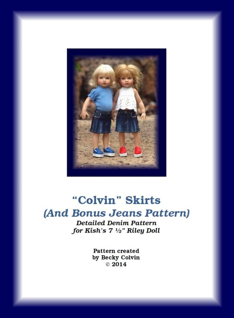 Colvin Jeans & Skirts-RPDF Pattern for Helen Kish's 7 image 0