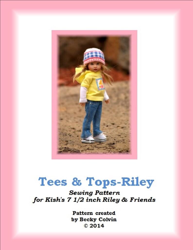 Tees & Tops-RPDF Sewing Pattern for Helen Kish's 7 image 0