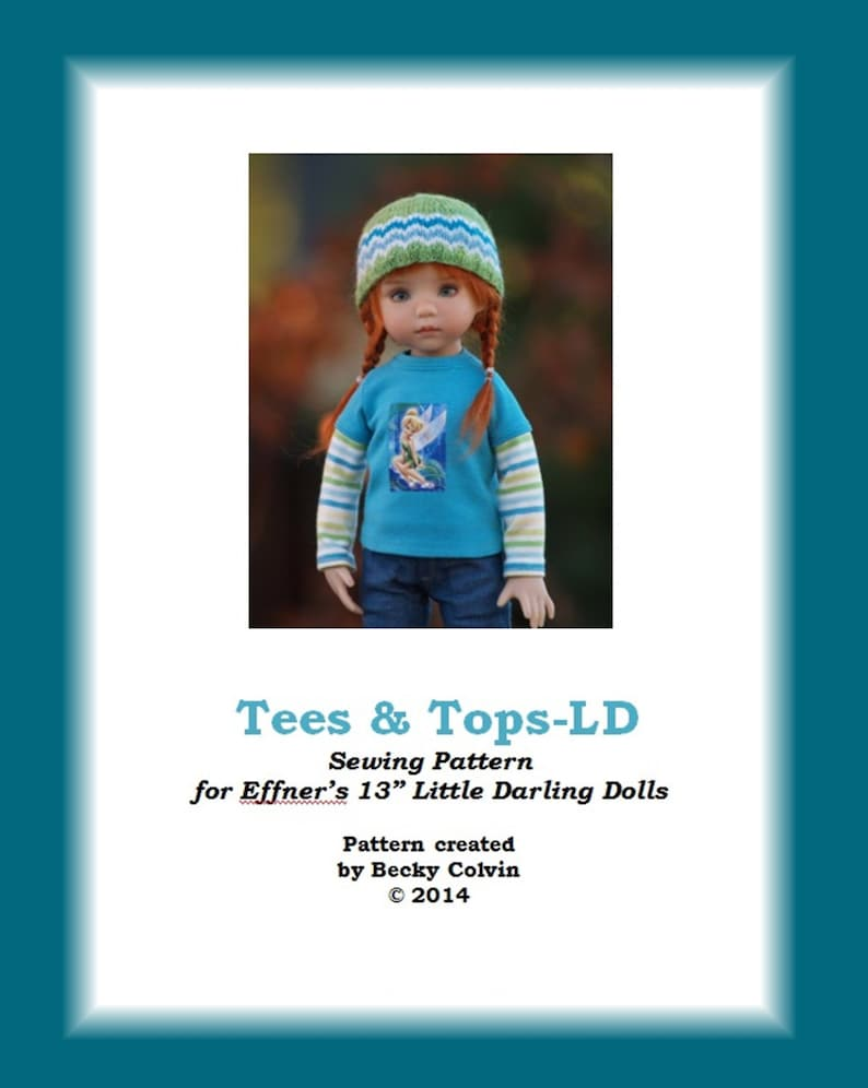 Tees & Tops-LDPDF Sewing Pattern for Dianna Effner's image 0