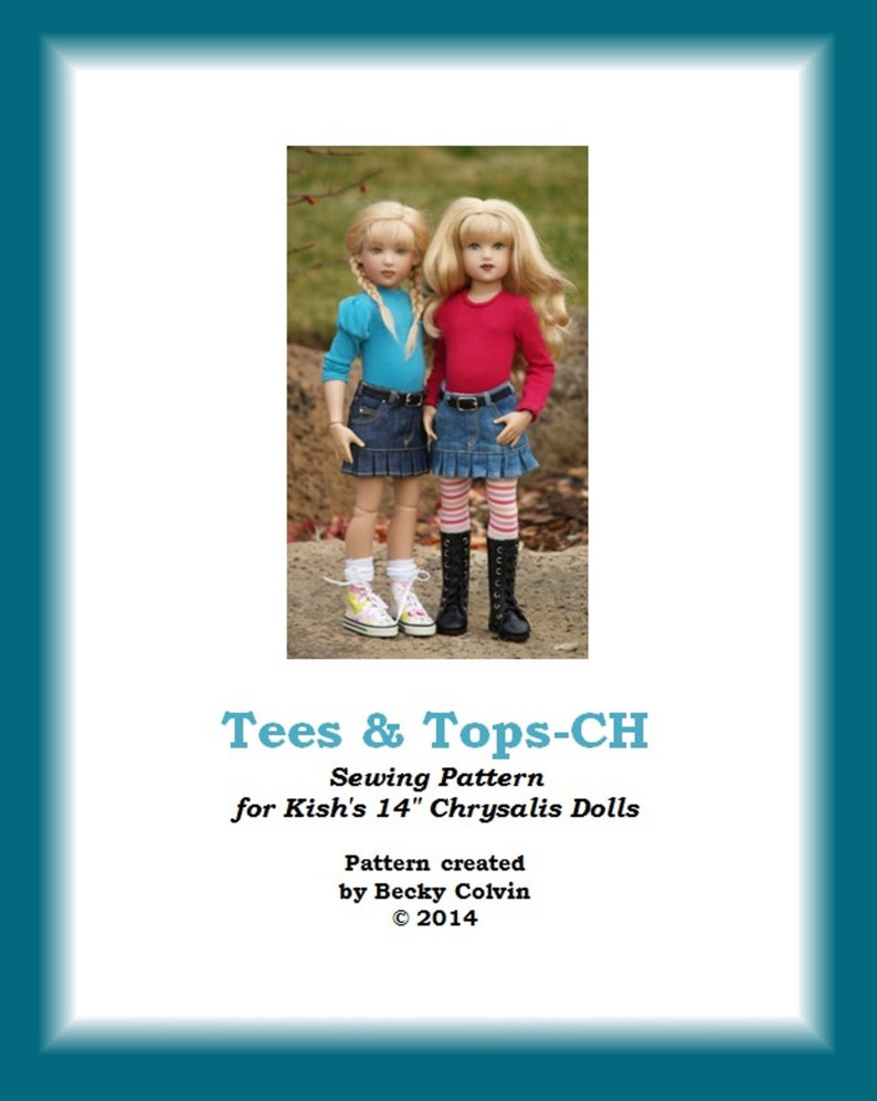 Tees & Tops-CHPDF Sewing Pattern for Helen Kish's image 0