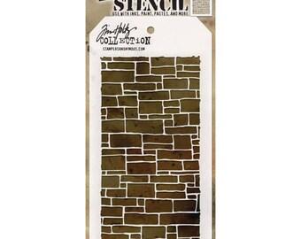 Tim Holtz Layering Stencil - SLATE THS085