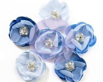 Prima Marketing Santorini Flower Embellishment In Style~ Messaria New Release In Stock Ready To Ship