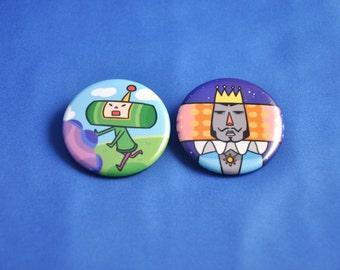 KATAMARI DAMACY Buttons!