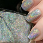 Butt Stallion - Borderlands Inspired Silver Holographic Nail Polish, 5-free