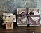 Pesto Duo Gift Set - Box Gift Set - Food Gift Set -  Handcrafted Gourmet Gifts