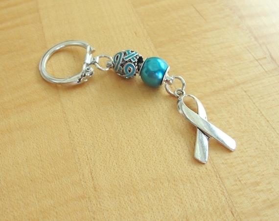 Papillomavirus homme symptomes - Ovarian cancer keychain