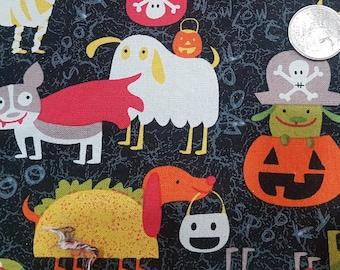 Customized, Hand-crafted Halloween Dog Bandana - Dogs in Costume