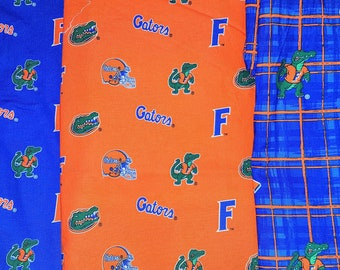 University of Florida Gators Handmade Elastic Stretch/Stretchy Leash for small to large dogs - Up to 120 lbs