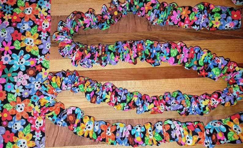 Handmade Elastic Stretch/Stretchy Dog Leash  Custom Fabric image 0