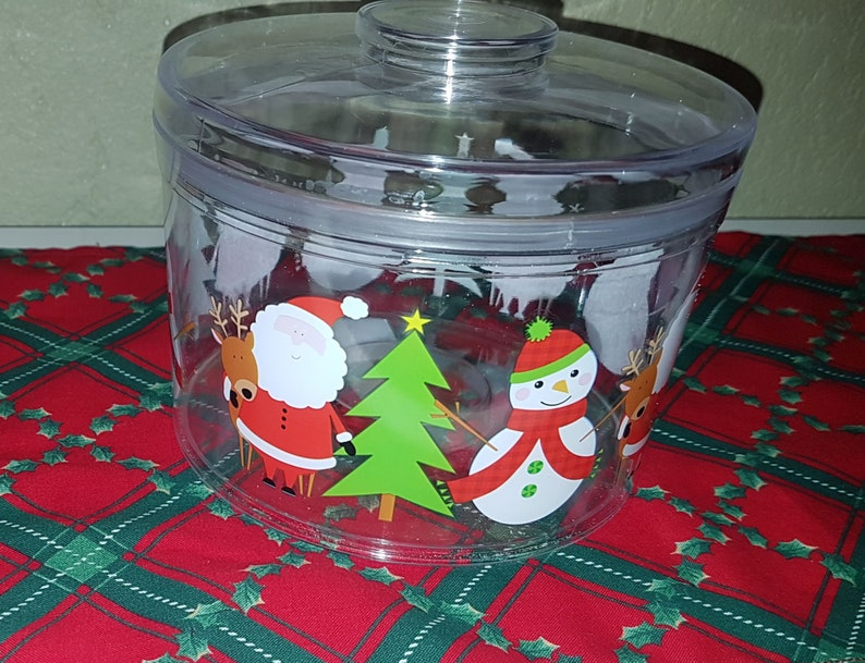 Holiday Cookie Jar of Fresh Baked Homemade Natural Dog image 0