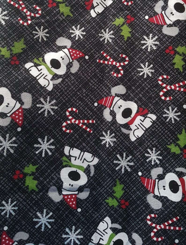 Customized Hand-crafted Christmas Dog Bandana image 0