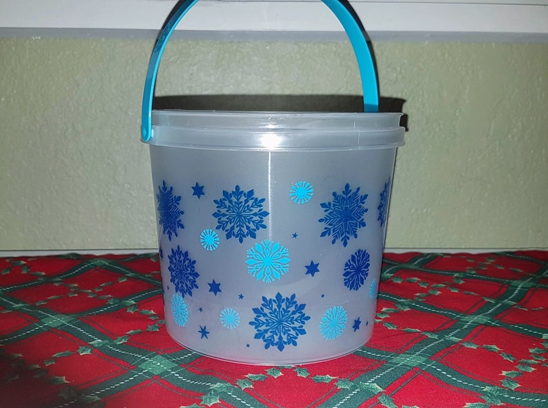 Holiday Mini Bucket Fresh Baked Homemade Natural Dog Treats image 0