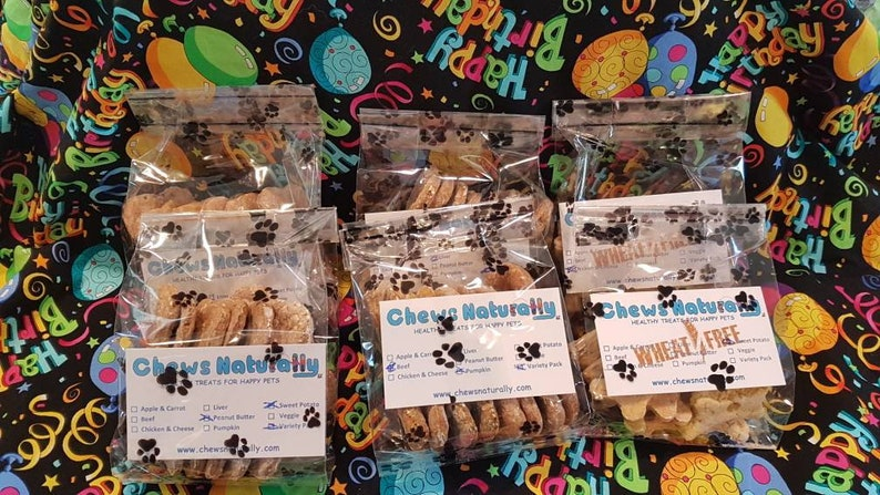 Wheat Free Puppy Party Package  Celebrate your Dogs Birthday image 0