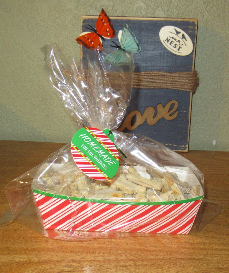 Holiday Package of Fresh Baked Homemade Natural Dog Treats image 0