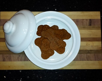 Fresh Baked, Homemade, Natural Dog Treats (1 Pound) - Wheat Free Available