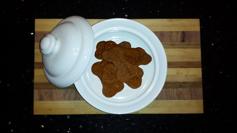 Fresh Baked Homemade Natural Dog Treats 1 Pound  Wheat image 0