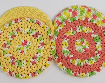 Hot Pads for Cooking, Pot Holders for Table, Gift Set for Kitchen
