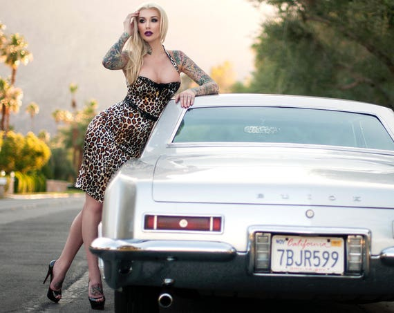 Palm Springs Doll 12x8 Print of Sabina Kelley
