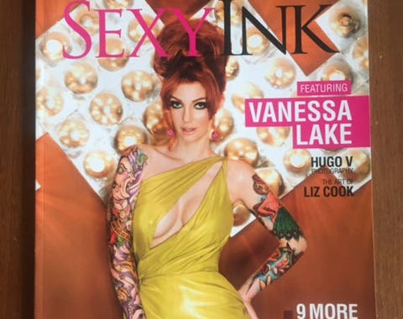 Sexy Ink Magazine- Vanessa Lake
