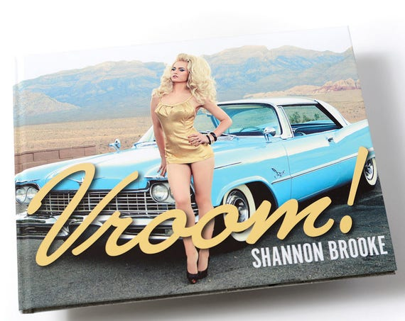 VROOM! By Shannon Brooke- High End Coffee Table Book