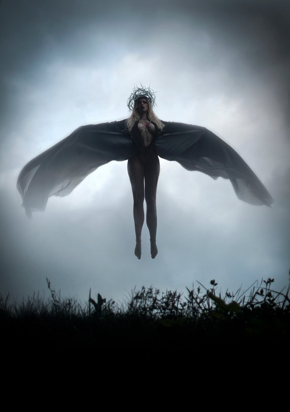 "Nico Jones ""Dark Angel"" 16x20 Print"