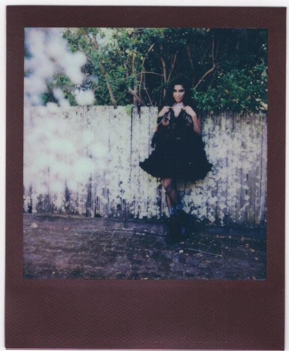 "Set of 2 Original Polaroids- Devi ""G.Girl x 2"""
