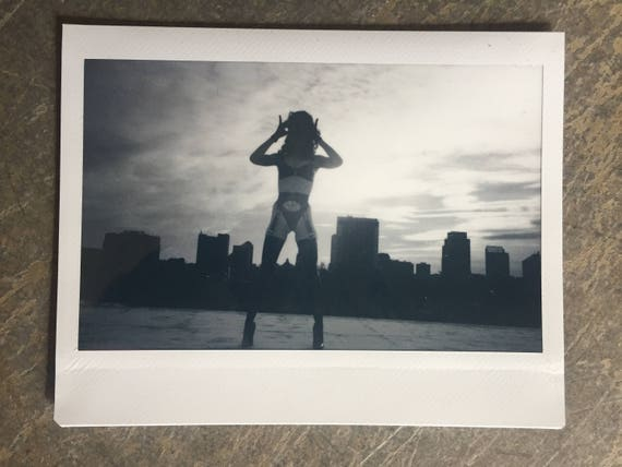 Bryona Ashly Original Exposed Instant Film- Instax Wide