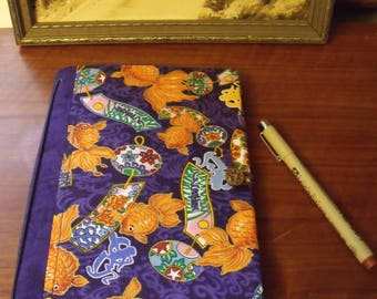 Hand Made Fauxdori Fabric Travelers Notebook Journal Fauxdori Cover Refillable