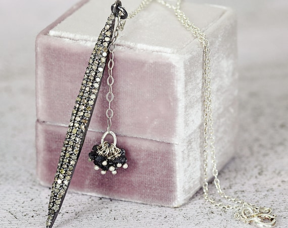 Real Diamond Necklace - April Birthstone Diamond Jewelry