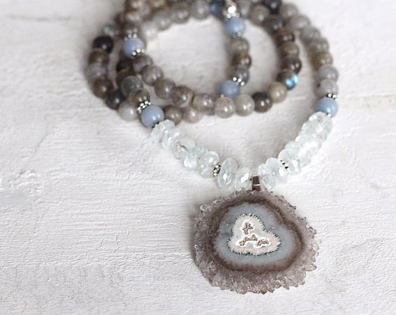 Stalactite Necklace - Statement Necklace For Women
